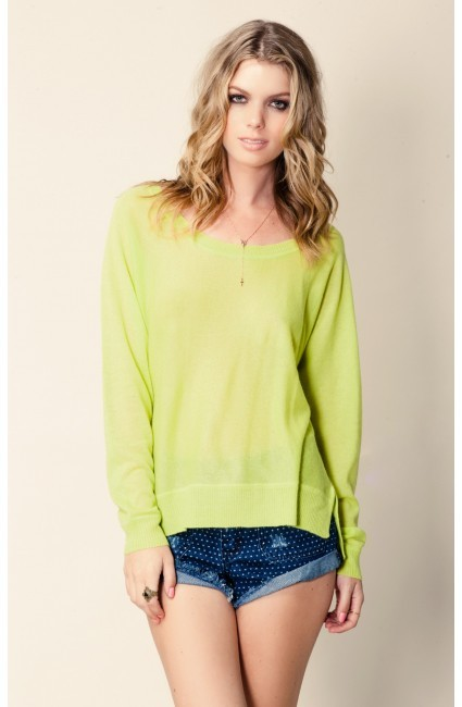 Feel The Piece Scoop Neck Cashmere Sweater