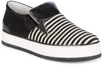 Emporio Armani Stripe Slip-On Sneaker