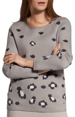 Basler Animal-Print Sweater