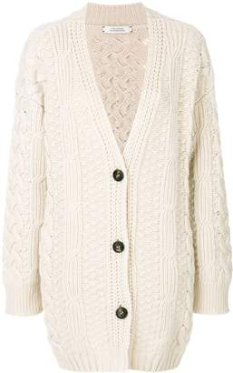 Schumacher Dorothee cable-knit cardigan