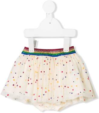 Stella McCartney hearts print skirt