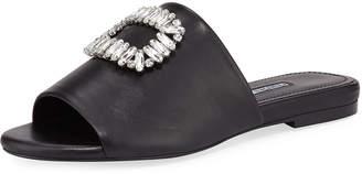 Charles David Sorbet Leather Flat Sandals