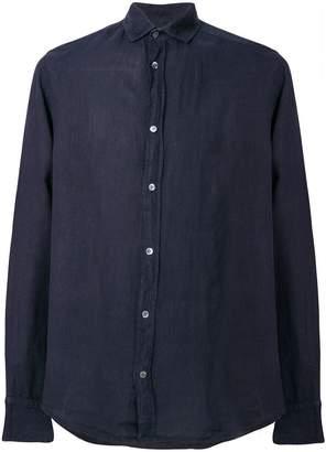 Emporio Armani casual curved hem shirt