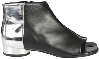Maison Margiela Open Toe Color Block Boots