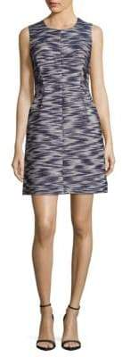 Milly Abstract A-Line Dress