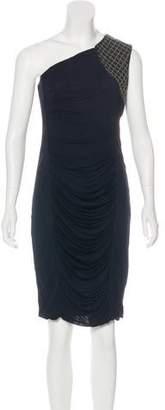 Yigal Azrouel Embellished Jersey Dress