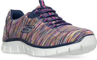 Skechers Women's Relaxed Fit: Empire - Game On Walking Sneakers from Finish Line $59.99 thestylecure.com
