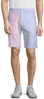 Brooks Brothers Colorblocked Oxford Short