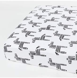 Dacor December Made Zebra Crib Sheet