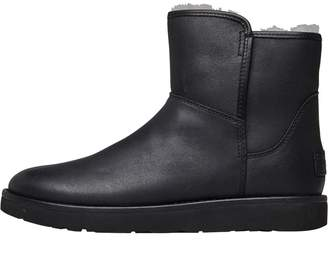 571af786dae UGG Leather Upper Boots For Women - ShopStyle UK