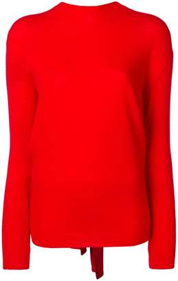 Valentino tie-back sweater