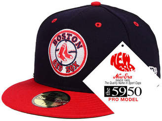 New Era Boston Red Sox Retro Stock 59FIFTY Fitted Cap