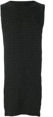 Chalayan split scarf sweater