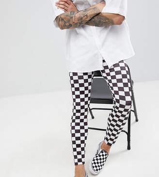 Reclaimed Vintage Revived Festival Checkerboard Legging
