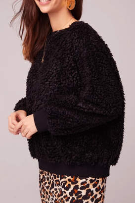 Band of Gypsies Back In Black Poodle Sweater