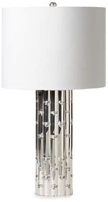 Barbara Cosgrove Bamboo Table Lamp - Nickel