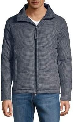 Black & Brown Black Brown Quilted Puffer Jacket