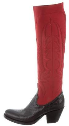 Pre-Owned at TheRealReal Rocco P. Embroidered Knee-High Boots w/ Tags