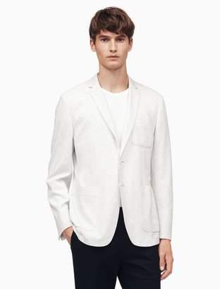 Calvin Klein classic fit pique interlock jacket