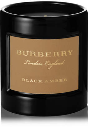 Burberry Black Amber Scented Candle, 240g - one size