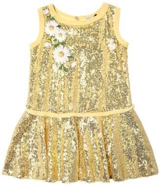 MonnaLisa Sequin Party Dress W/ Patches