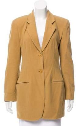 Giorgio Armani Angora & Wool-Blend Blazer