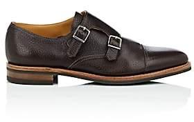John Lobb Men's William Leather Double-Monk-Strap Shoes - Dk. brown
