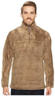 True Grit Luxe Fleece Stripe 1/4 Zip Pullover Men's Clothing