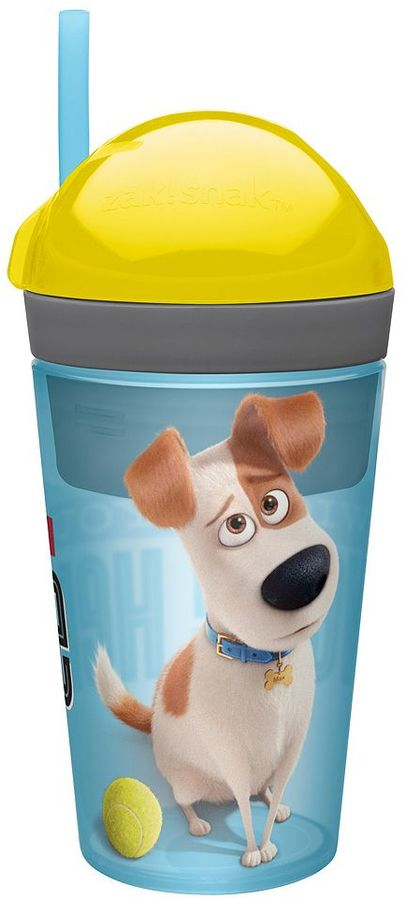Zak designs The Secret Life of Pets Zak!Snak Snack Cup by Zak Designs