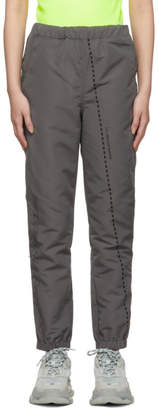 Polythene* Optics Grey Poplin Lounge Pants