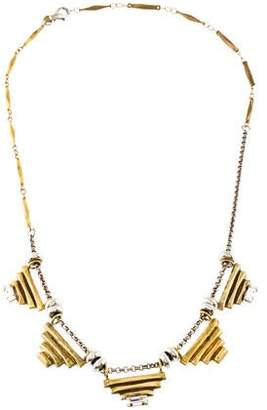 Bing Bang Five Sacred Pyramids Necklace