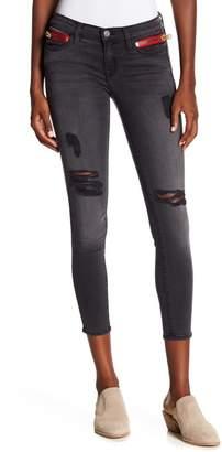 Etienne Marcel Zip Pocket Skinny Jeans