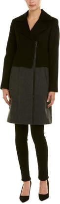 Trina Turk Brooklyn Wool-Blend Coat