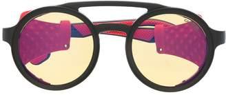 Carrera structured round sunglasses