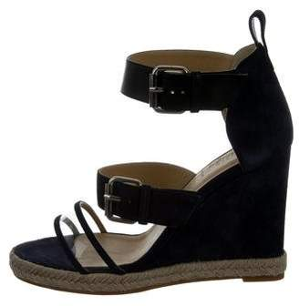 Ritch Erani NYFC Suede Wedge Sandals w/ Tags