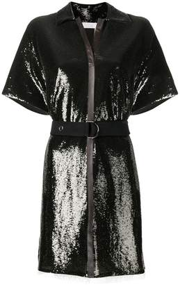 Chloé belted sequin dress