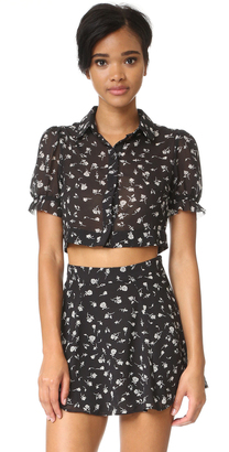 Wildfox Swing Set Blouse $79 thestylecure.com
