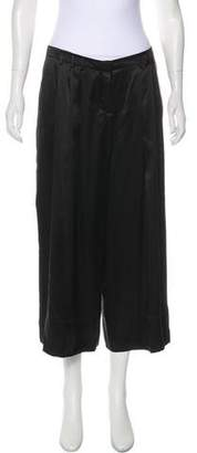 Robert Rodriguez High-Rise Silk Culottes w/ Tags