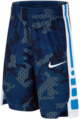 Nike Big Boys Elite Printed Basketball Shorts