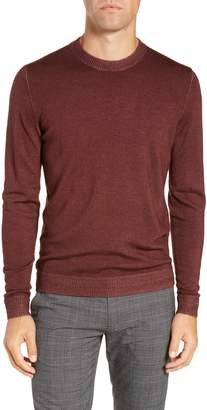Ted Baker Trim Fit Newab Garment Dyed Wool Sweater