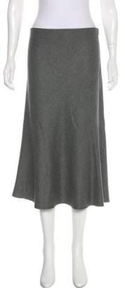 Theyskens' Theory A-Line Midi Skirt