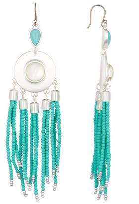 Lucky Brand Chandelier Beaded Earrings