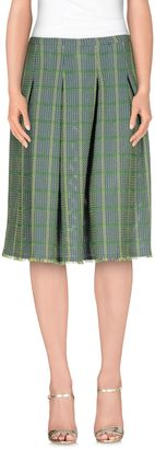JUCCA Knee length skirts $167 thestylecure.com