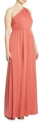 Rachel Pally Rachel Pally, Plus Size Carre One-Shoulder Dress