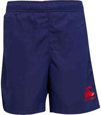 Canterbury of New Zealand Boys VapoDri Woven Run Shorts Patriot Blue