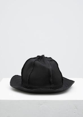 Yohji Yamamoto black 6 panel hat $700 thestylecure.com