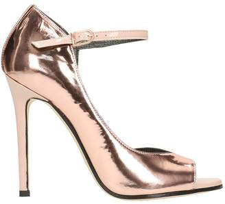 Marc Ellis Open Toe Bronze Pumps