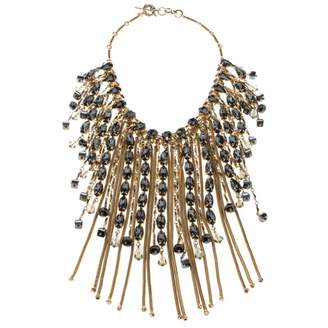 Etro Gold Crystal Necklaces