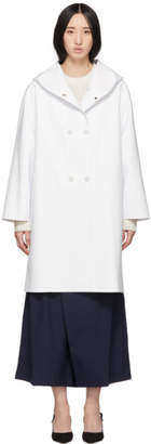 Max Mara White Stilla Coat