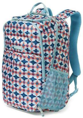 Vera Bradley Water Geo Journey-Backpack